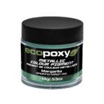 Pigmenty metaliczne do żywicy marki EcoPoxy od Rivertable.eu