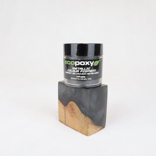 Whale metallic colour pigment by Ecopoxy from Rivertable.eu