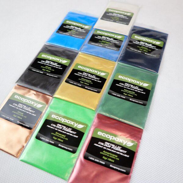 Pigmenty kolorowe do żywicy